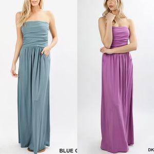 HAILEY Maxi Dress -  3 COLORS